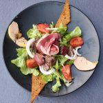 Salade périgourdine au foie gras